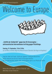 Welcome to Europe - Afrique-Europe-Interact