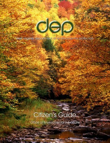 Citizen's Guide - West Virginia Department of Environmental ...