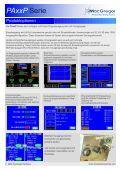 Die PAxxP Maschinen sind Präzision voll ausgestatteten linearen ... - Seite 2