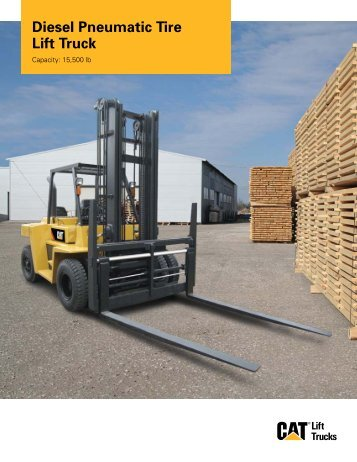 Diesel Pneumatic Tire Lift Truck - Worldwide Forklifts