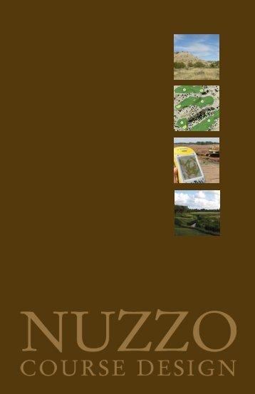Digital Brochure - Mike Nuzzo Golf Course Design