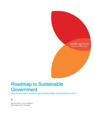 Roadmap to Sustainable Government - National Association of State ...
