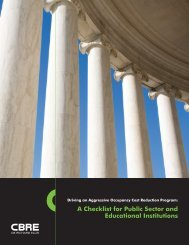 A Checklist for Public Sector and Educational Institutions