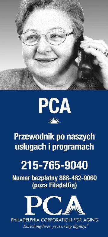 Przewodnik po naszych usługach i programach - Philadelphia ...