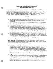 Rocky Mountain Student Media Corporation 2008-09 Operating ...