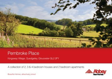 Download a Brochure - Abbey New Homes