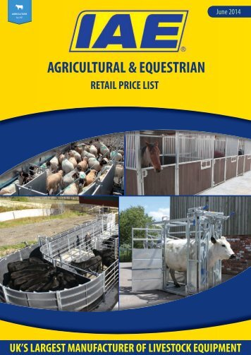AGRICULTURAL & EQUESTRIAN