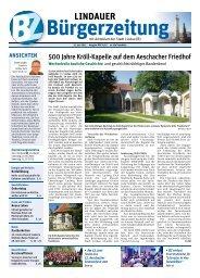 13.06.2015 Lindauer Bürgerzeitung