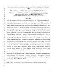 ANALISIS REGIONAL DE FRECUENCIA DE SEQUIAS ... - Aquaknow