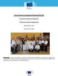 Tercer Evento Coordinación Regional RALCEA - Aquaknow