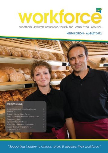 WORKFORCE Newsletter 9th Edition August 2012 - FTH Skills Council
