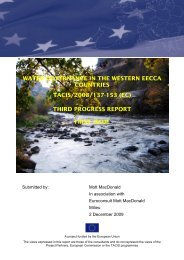 water governance in the western eecca countries tacis - Wgw.org.ua
