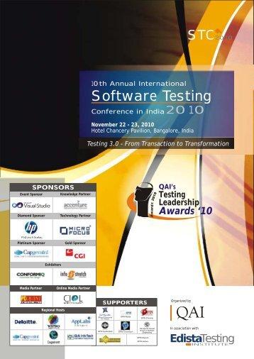 Conference Brochure - QAI