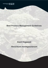 Best Practice Management Guidelines Giant Hogweed - Invasive ...