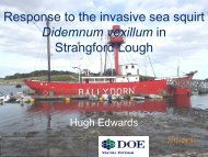 Integrated Coastal Zone Management in Northern Ireland - Invasive ...
