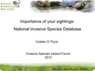 The importance - Invasive Species Ireland