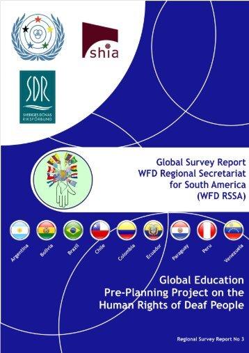 RSSA Regional Survey Report No 3 (English Version) PDF - World ...