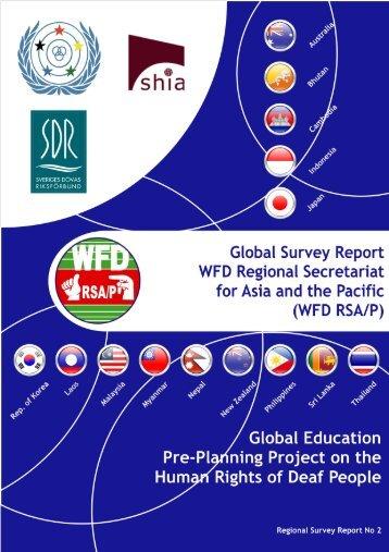 RSA/P Regional Survey Report No 2 (English Version) PDF - World ...