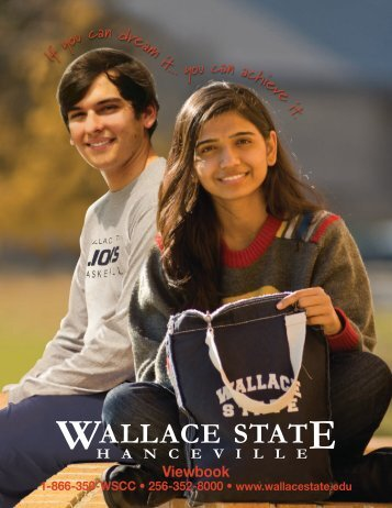u can dr eam it . - Wallace State Community College