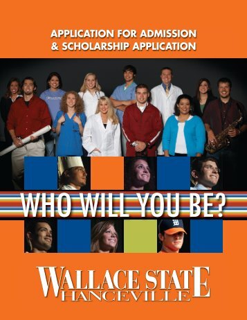 Scholarship Application - Wallace State Community College