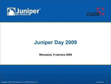Quiz - Juniper - CLICO Sp. z o.o.