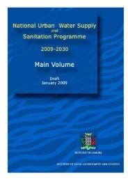 4. water supply development programme - Aquaknow