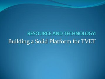 PB7 Resource and Technology - SOE Conferences