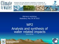 WP2 analysis and synthesis.pdf - Climatewater