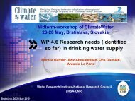 WP4_research needs_water supply.pdf - Climatewater