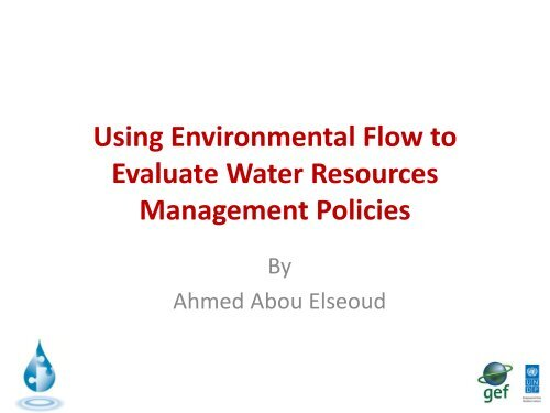 Using Environmental Flow to Evaluate Water Policies