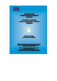 EU Water Framework Directive - Kura River Basin