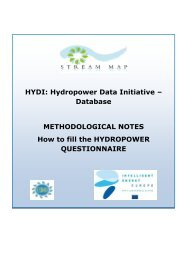 methodological notes - Stream Map