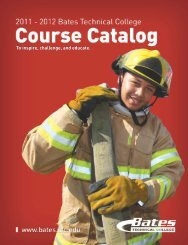 Course Catalog - Bates Technical College - Ctc.edu