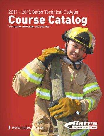 Course Catalog - Bates Technical College - Ctc.edu