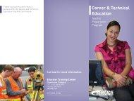 CTE Brochure - Bates Technical College - Ctc.edu