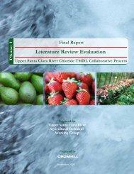 Literature Review Evaluation - The Farm Bureau of Ventura County