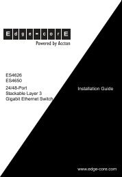 PDF Installation Guide - Fiber and Copper interface converter on ...