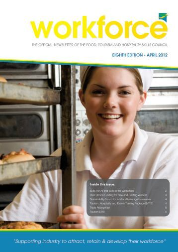 WORKFORCE Newsletter 8th Edition April 2012 - FTH Skills Council