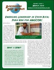 Emerging Leadership in Costa Rica: Pura Vida por ANASCOR!