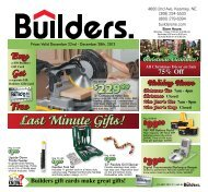 Last Minute Gifts! - Builders