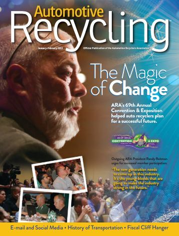 January-February - Automotive Recyclers Association