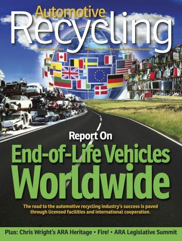 September-October 2012 - Automotive Recyclers Association