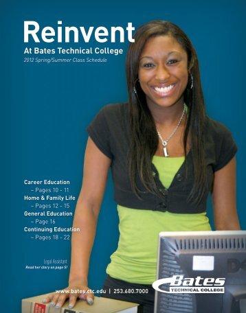 Reinvent - Bates Technical College - Ctc.edu