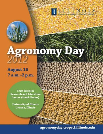 Agronomy Day 2012