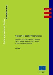 Support to Sector Programmes - Aquaknow