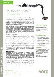 : Kummer GmbH - Vero Software