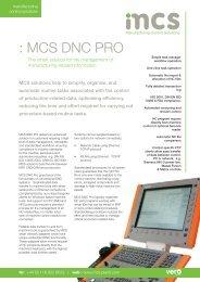 : MCS DNC PRO - Vero Software