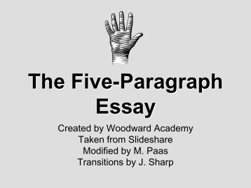 paragraph essay worksheet date  the five paragraph essay