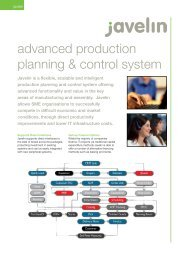 advanced production planning & control system