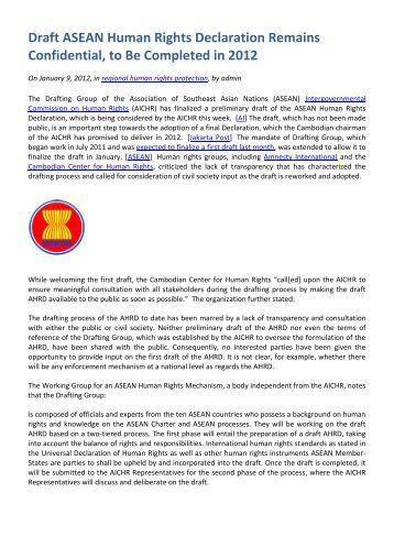 asean human rights declaration pdf